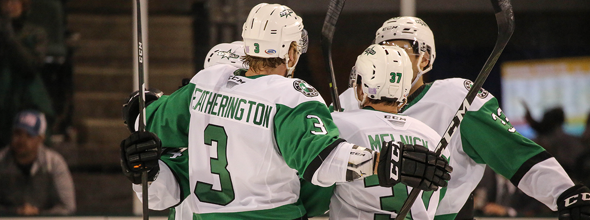 Texas Stars Outshine Iowa Wild 4-3
