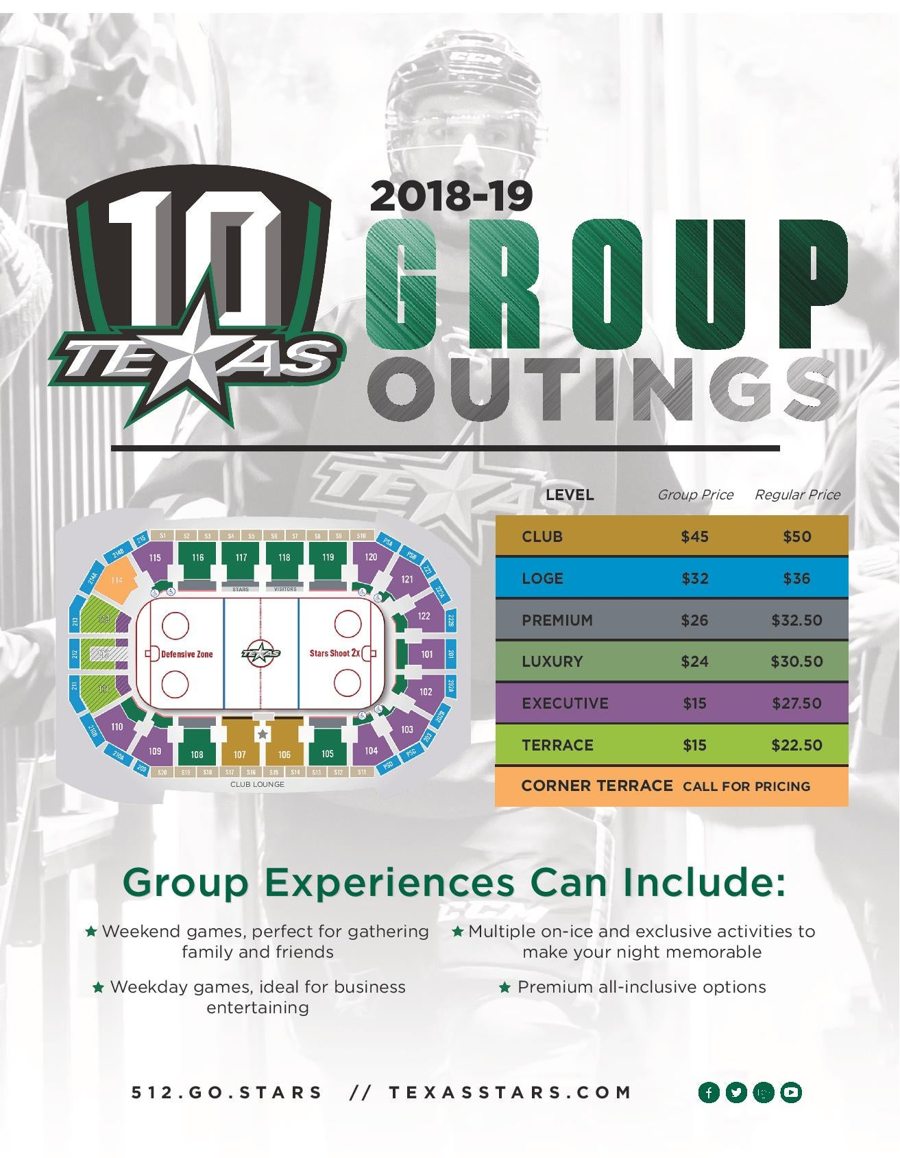 Groups Flyer 2018-19