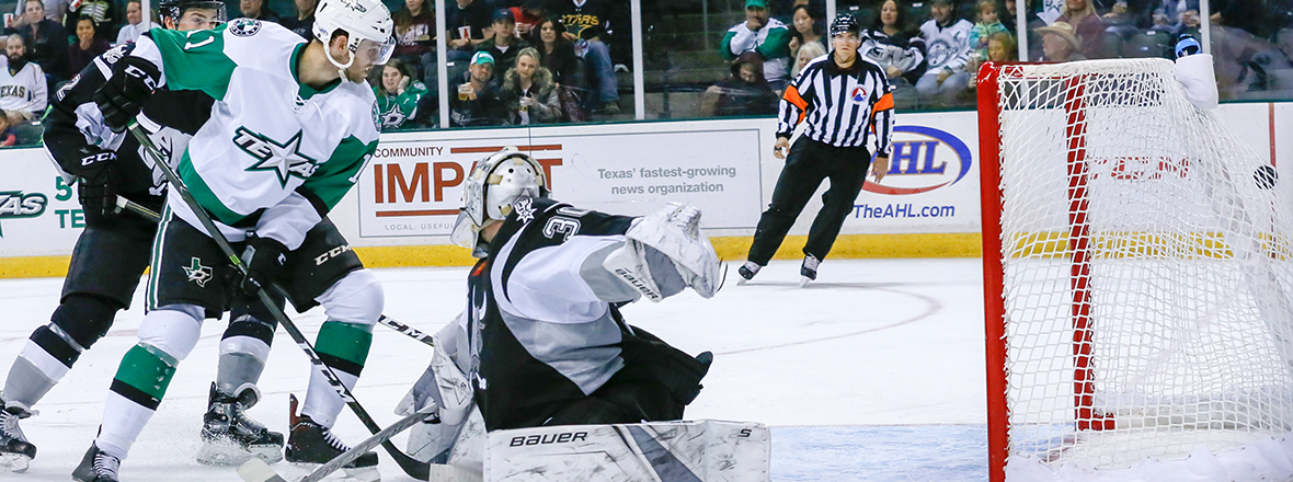 Stars Pick Up a Point in 3-2 Shootout Loss to Rampage