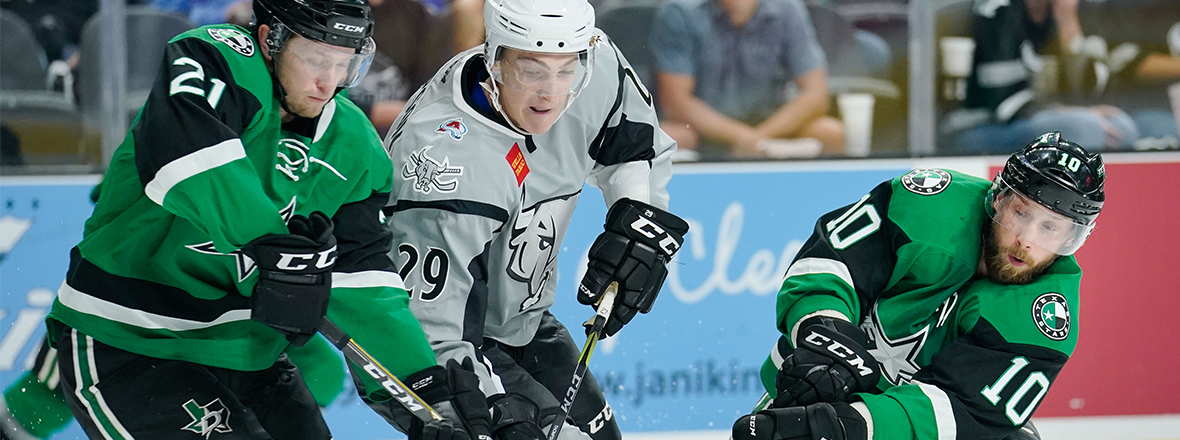 Stars Fall Short in 3-1 Loss to Rampage