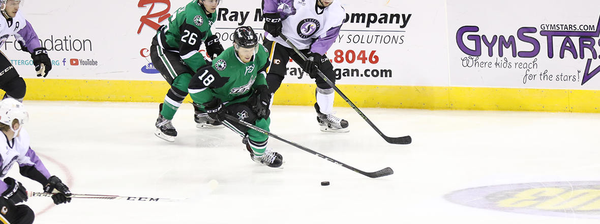 Stars Suffer 1-0, Shutout Loss in Stockton