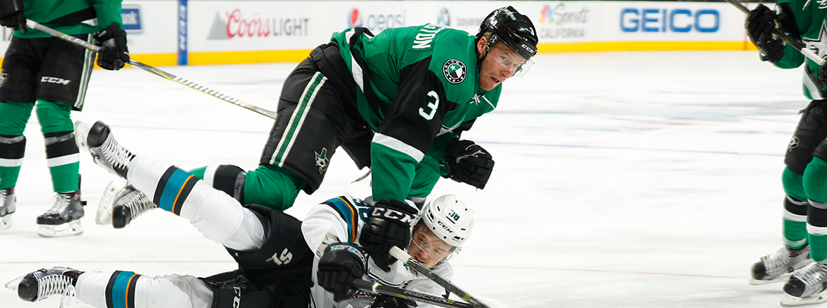 San Jose Upends Stars in 6-1 Final