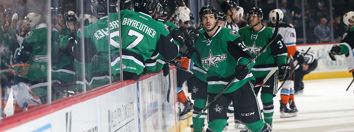 Stars Power Play Lights Up Gulls in 6-2 Win