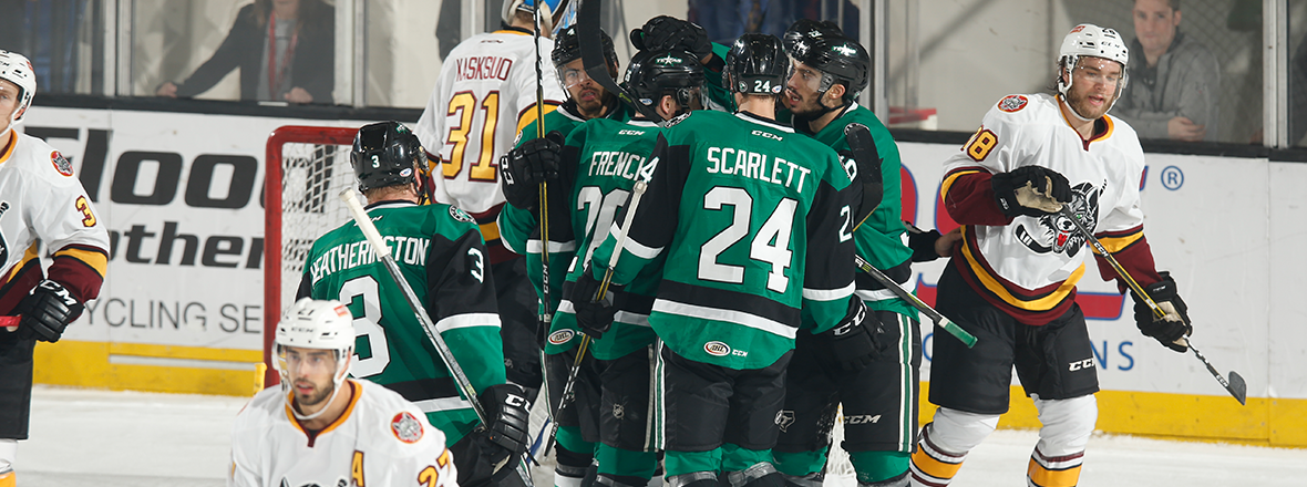 Stars Shock Wolves in Overtime, 2-1