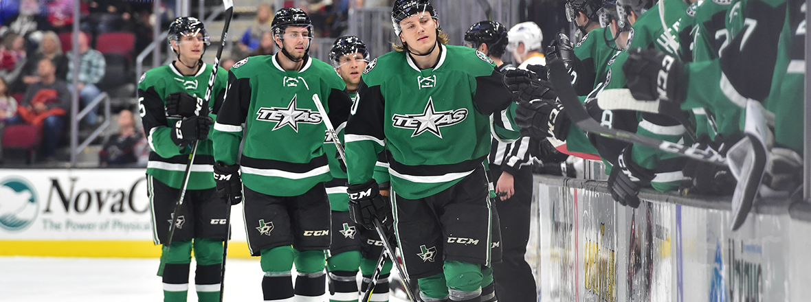 Stars Sweep Weekend in Cleveland with 3-2 Win