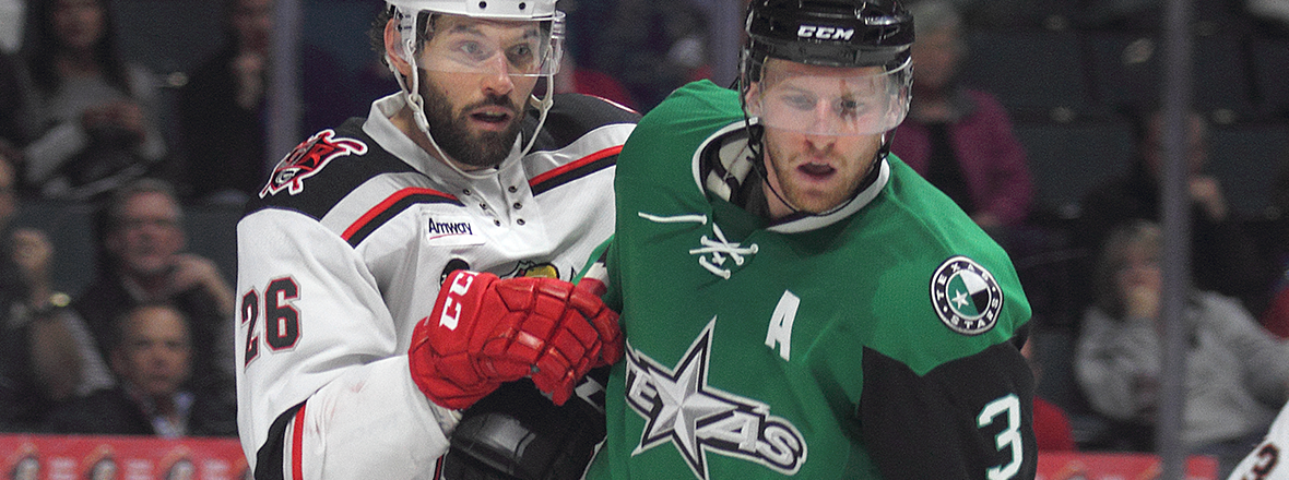 Stars Come Back to Win Fifth Straight, 5-4