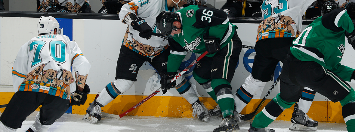 Stars Stalled in San Jose in 3-1 Loss