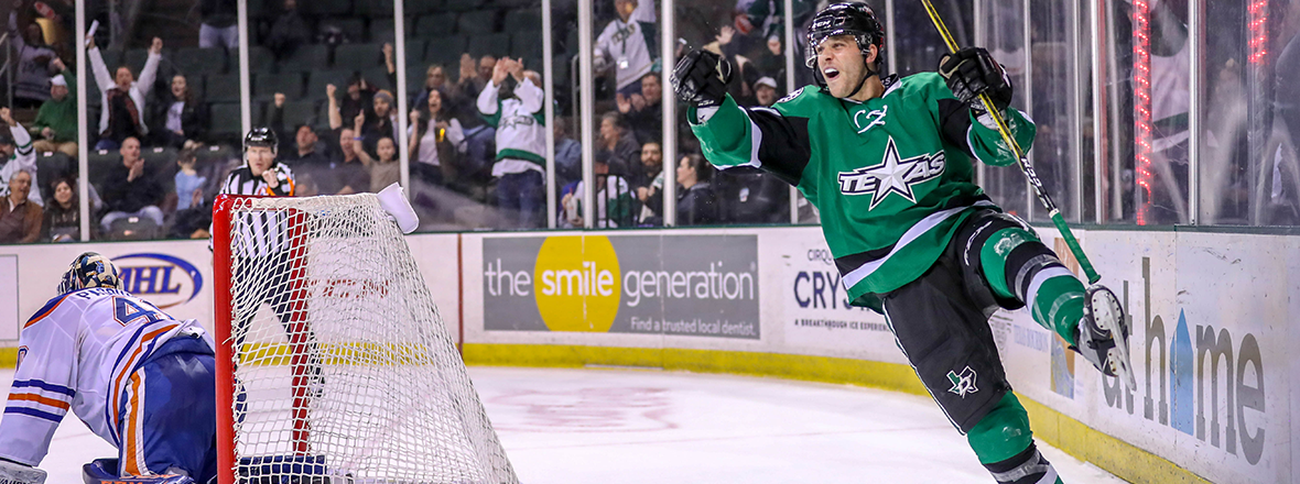 Late Heroics Lead Stars to 3-2 Overtime Win