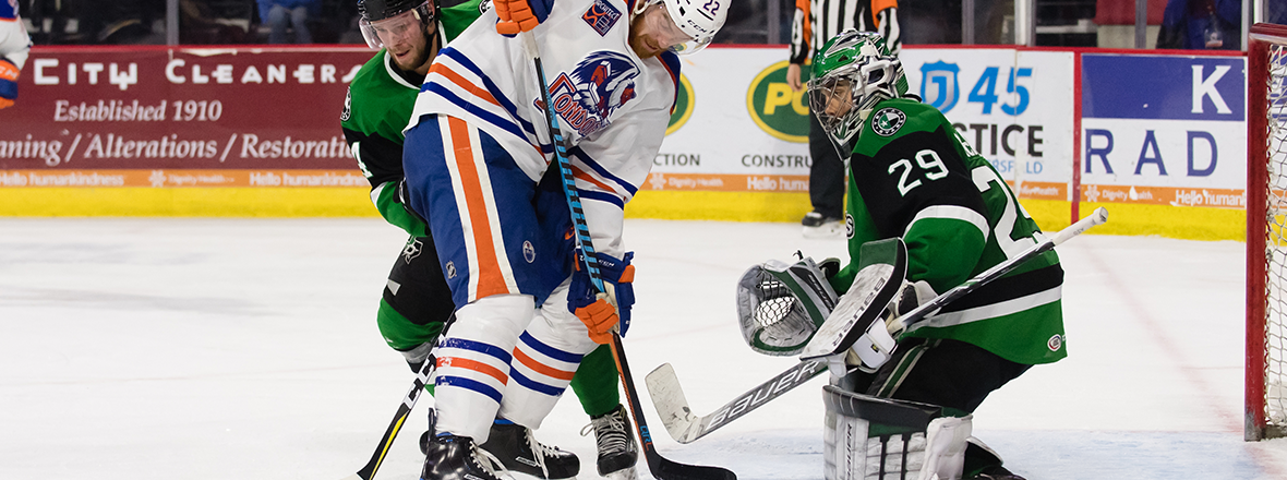 Stars Pick Up Point in 2-1 Overtime Loss to Condors