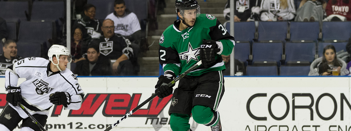 Stars Rally Late, Pick Up Point in 3-2 Shootout Loss