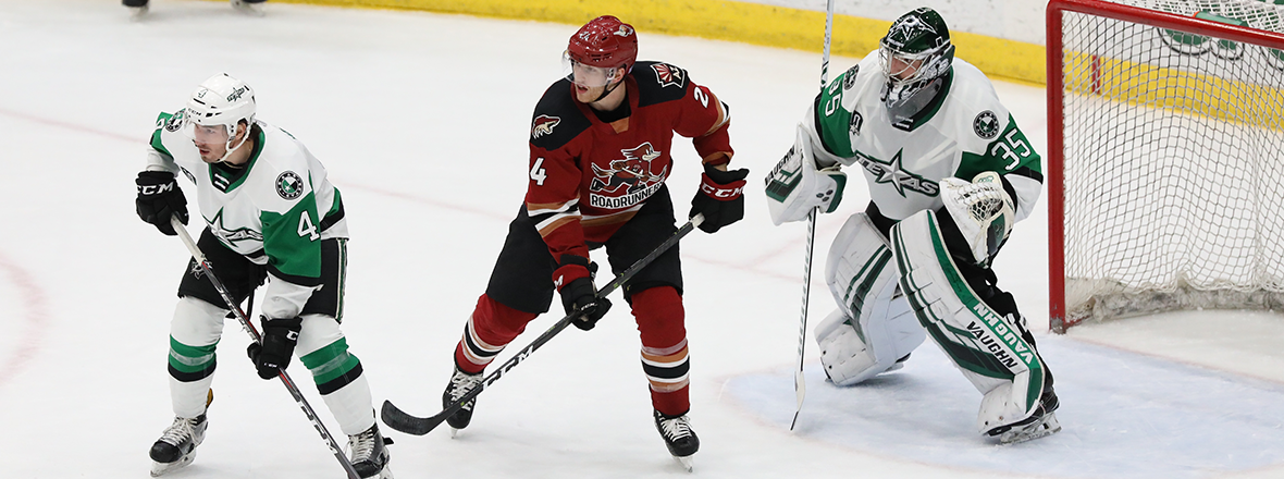 Late Push by Tucson Overtakes Early Stars Advantage