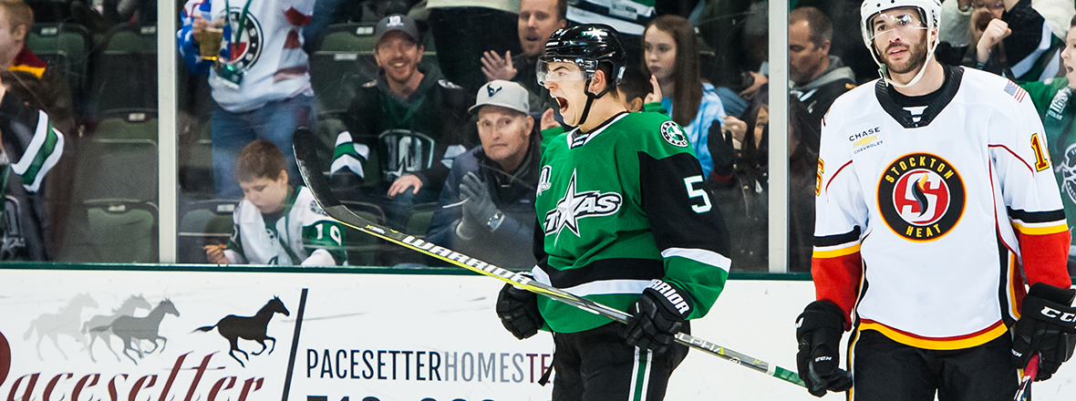 Stars Cool the Heat in Thrilling 5-4 Victory
