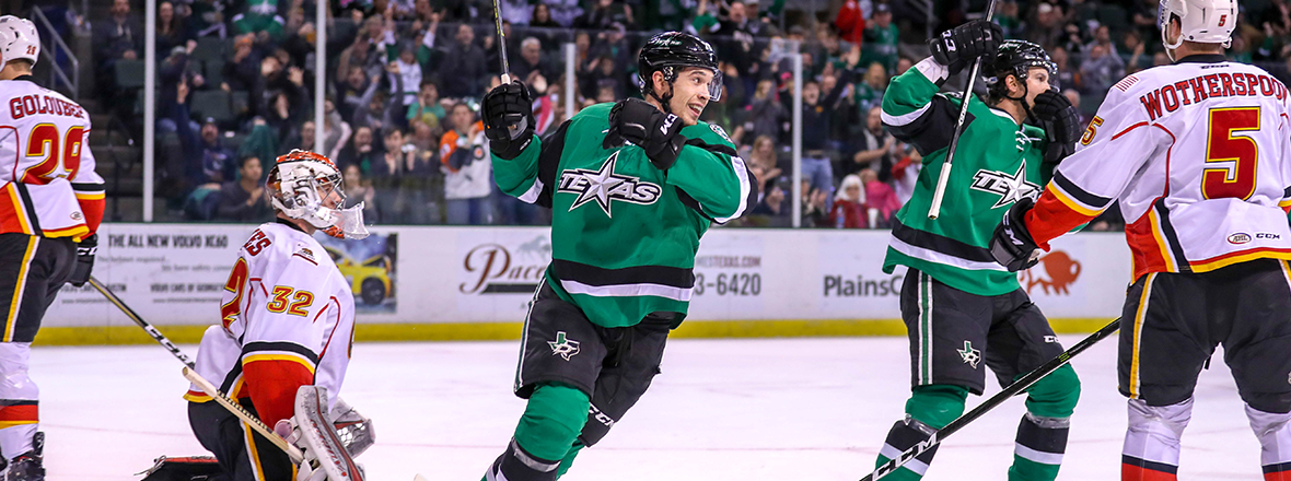 Stars Hold On in a Wild One to Win 4-3