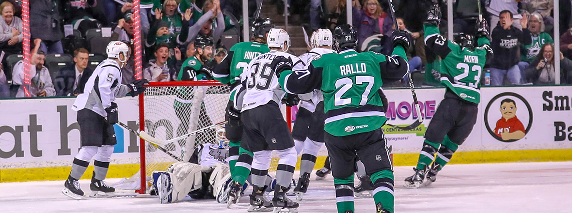 Stars Back in Second After Big Third Period Seals 5-1 Win