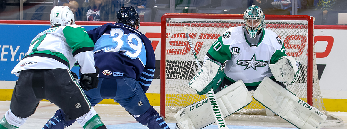 Goaltending Duel Ends in Stars Defeat