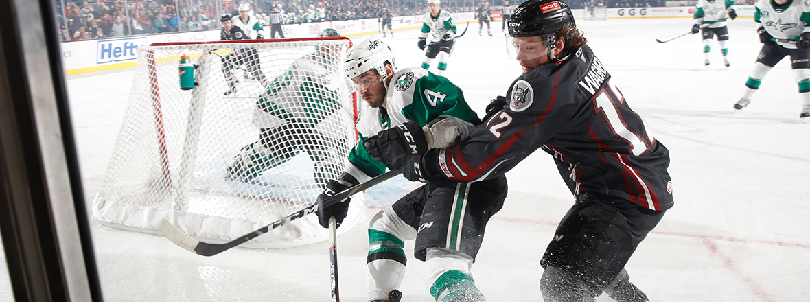 Stars Fall in Morning Matchup with Wolves