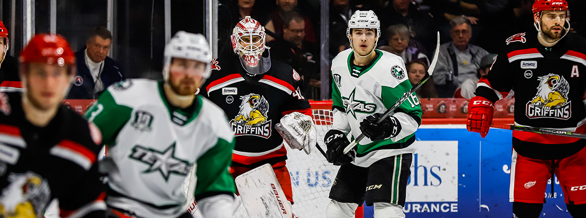 Stars Rally for Point, Fall in Shootout to Grand Rapids