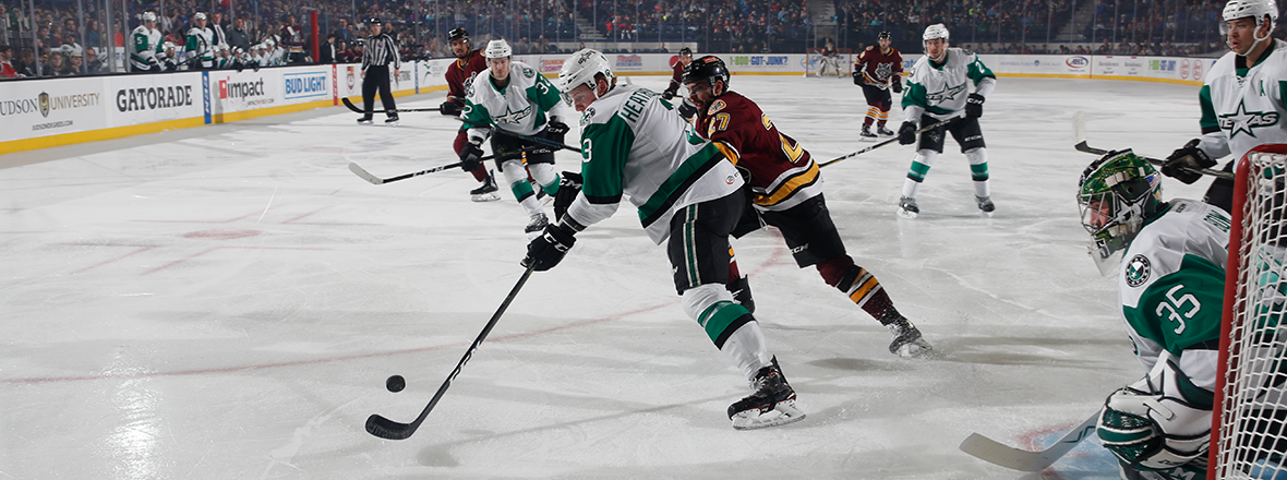 Stars Earn Point in Road Shootout Loss to Chicago