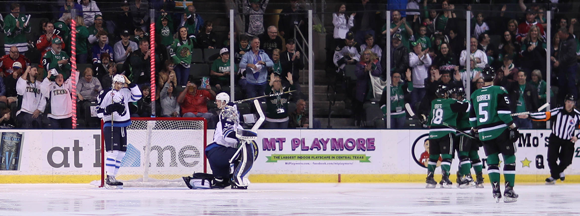 Stars Beat Up Moose in 6-4 Win