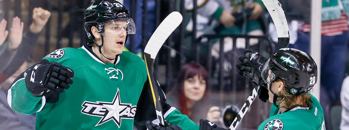 Third-Period Surge Lifts Stars to Pivotal Win, 2-1