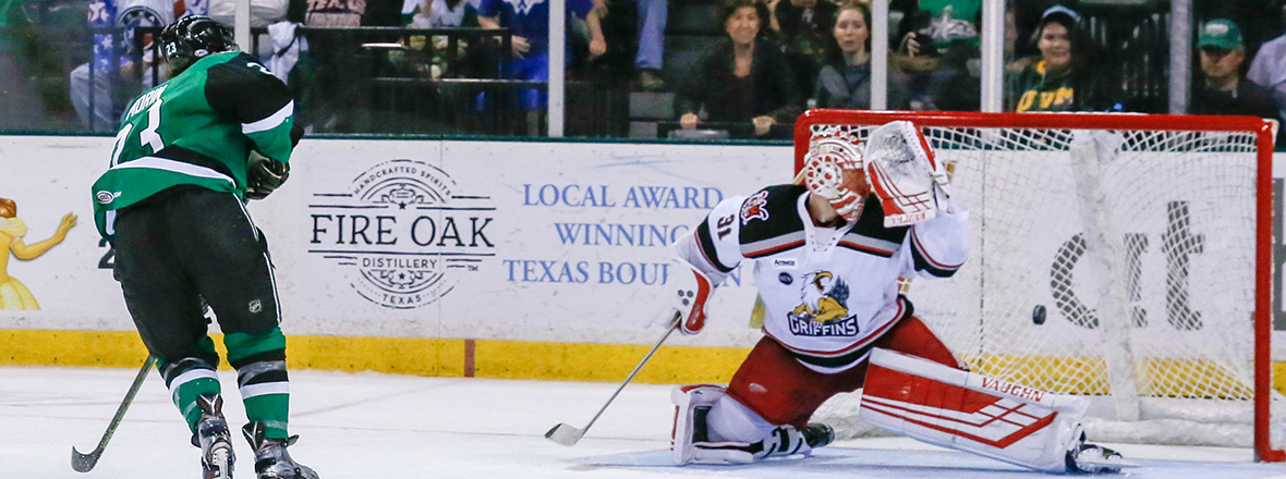 MO-vertime! Stars Top Griffins, 3-2