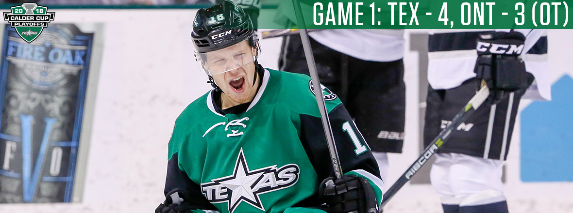 Buckle Up! Stars Take Series Opener in Overtime Thriller