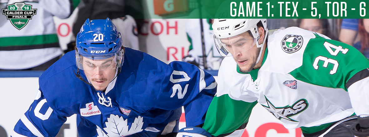 Marlies Take Series Lead in a Wild Game 1