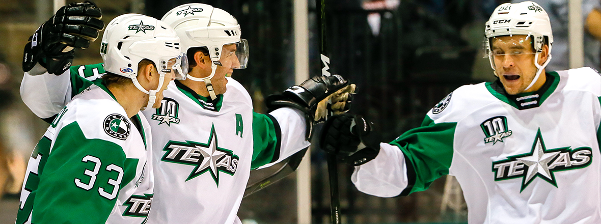 Stars Fend off Admirals for Third Straight Win