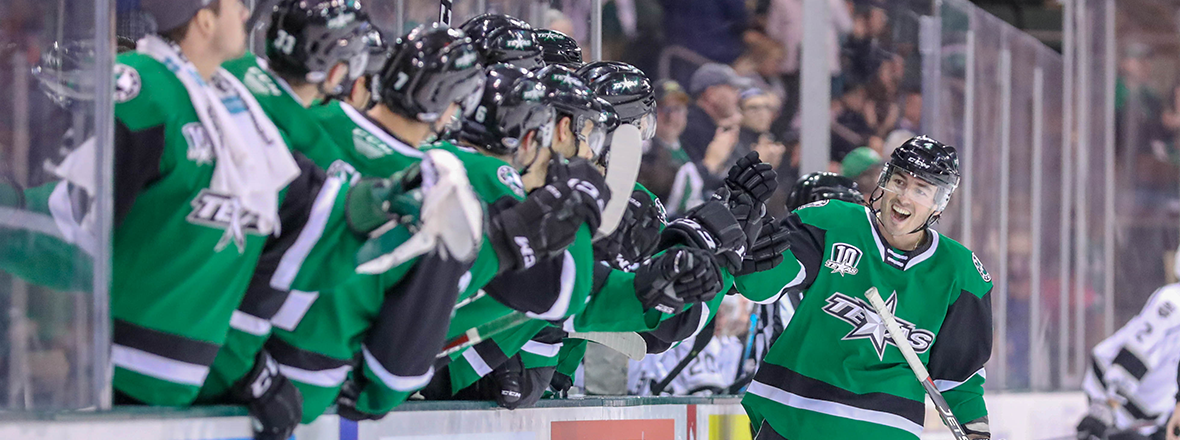 Stars Stay Hot at Home in 5-1 Victory over Ontario