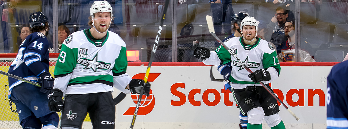 Stars Overcome Moose Comeback with 5-4 Overtime Win