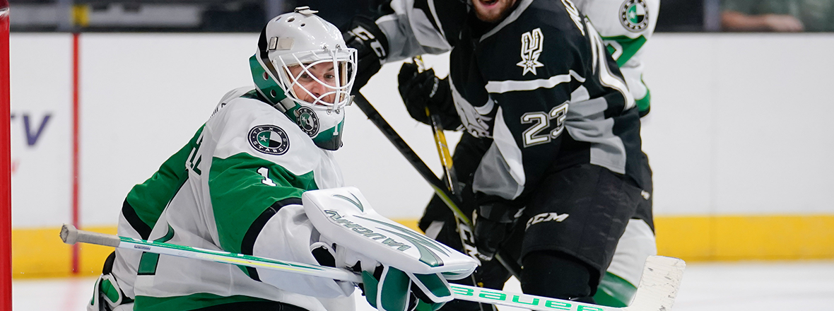 Stars Fall to Rampage in Preseason Opener
