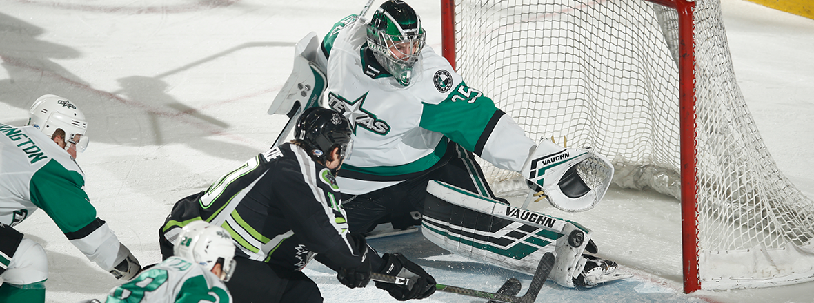Melnick, Stars Earn 2-1 Overtime Win to Open New Year