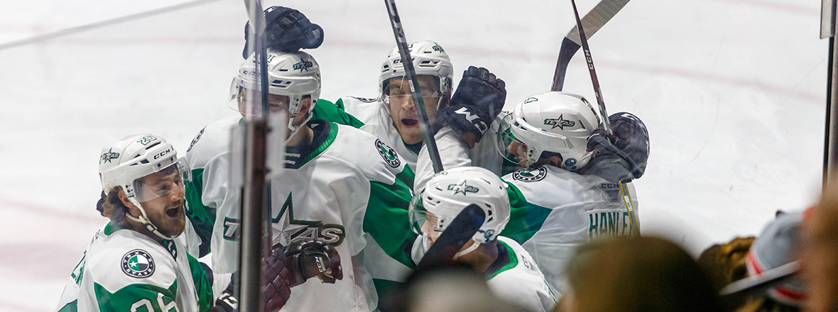 Stars Shutout the IceHogs in 1-0 Victory