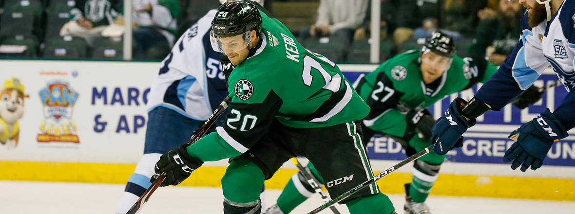 Stars Fall to Admirals 3-2 in Overtime Battle