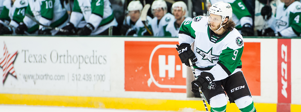 Stars Re-Sign Winger Anthony Louis