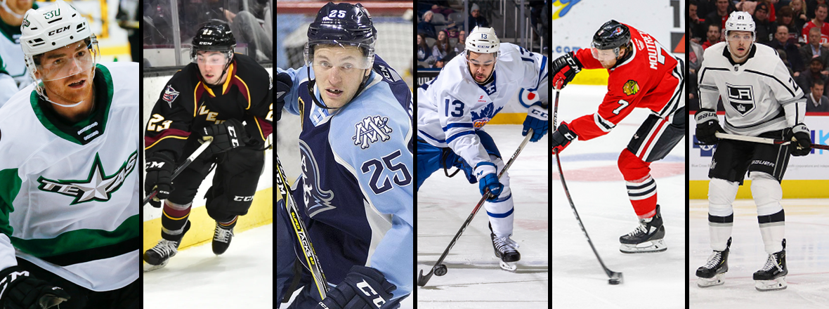 Texas Stars Announce Signings of Six Forwards