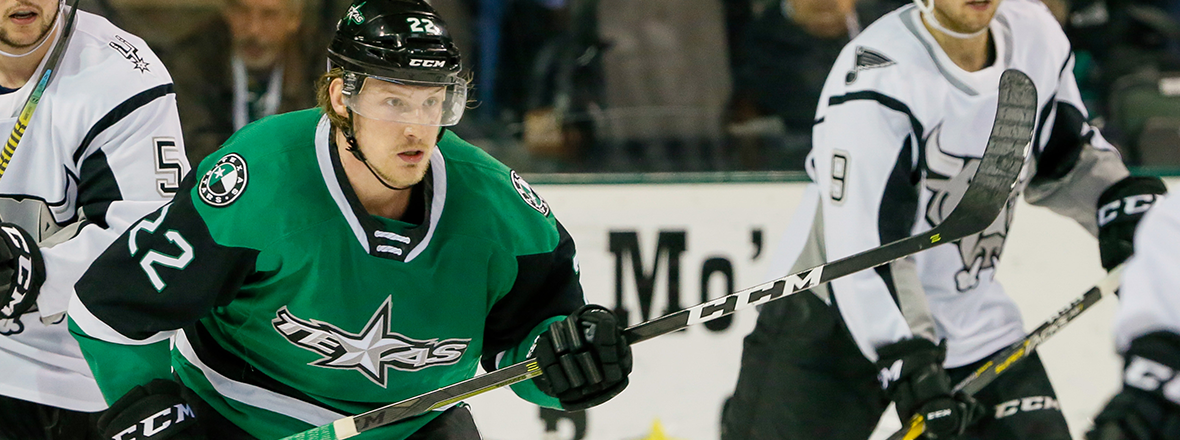 Dallas Stars Loan Gardner to Texas