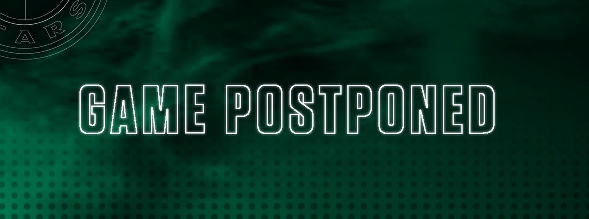 Tonight's Game against Iowa Postponed