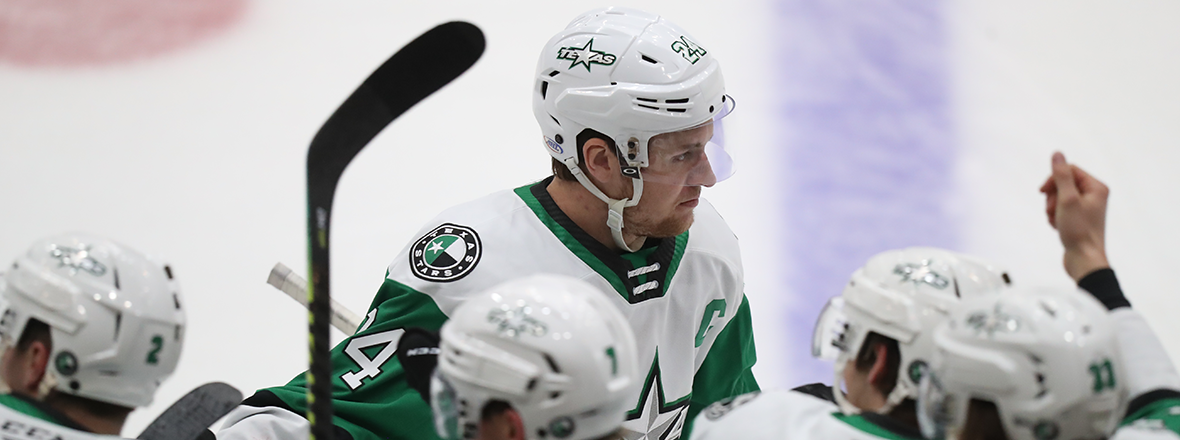 Cole Schneider Leads Stars to 5-2 Win in Tucson