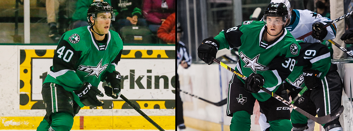 Dallas Stars Recall Rosburg, Loan Fedun to Texas