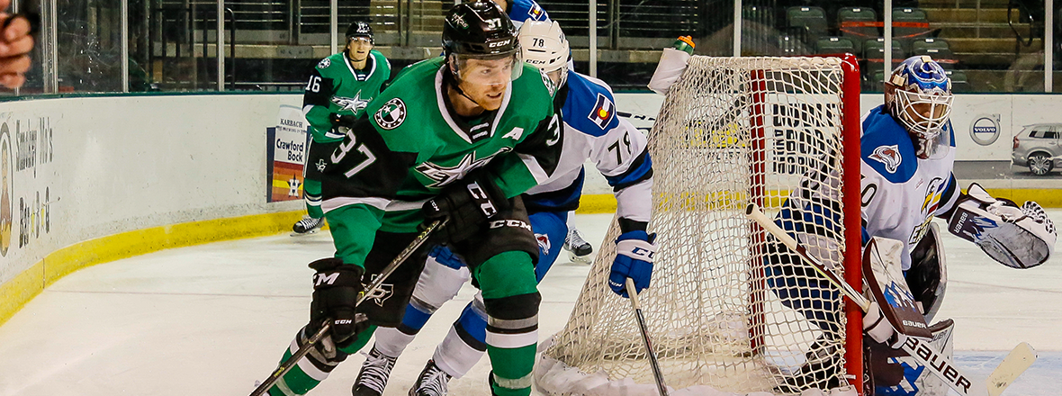 Stars Fall to Eagles in Wild 5-4 Overtime Game
