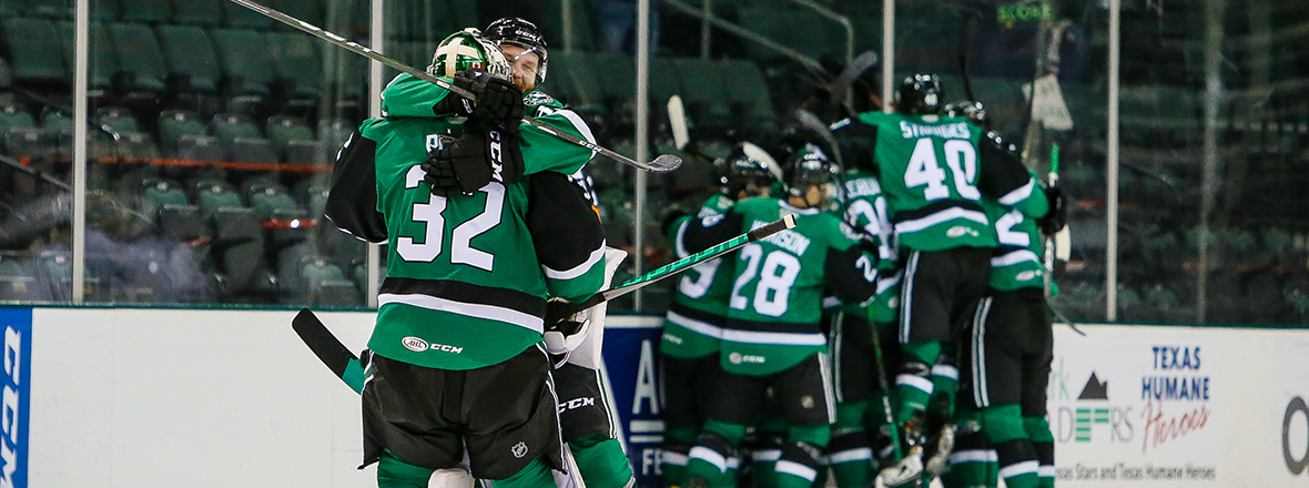 Stars Force Overtime and Top Wild 4-3