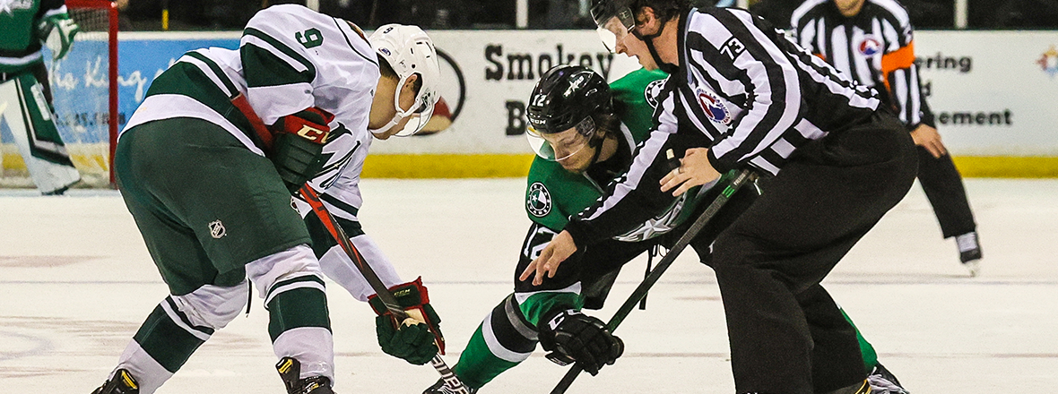 Stars Fall in Tight Game with Wild
