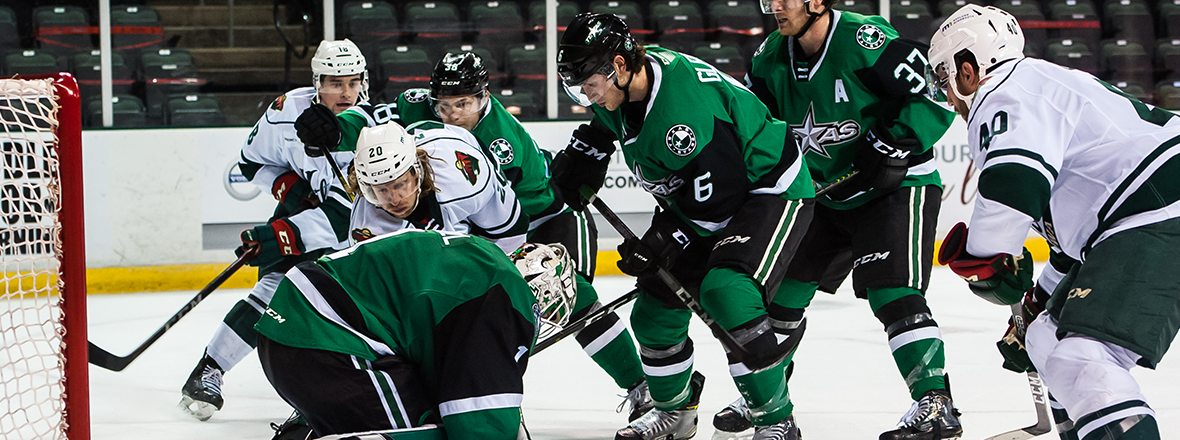 Stars End Homestand with 5-2 Loss