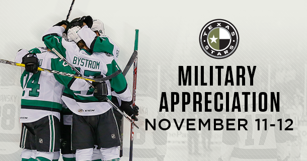 Military Appreciation this Weekend vs. San Jose