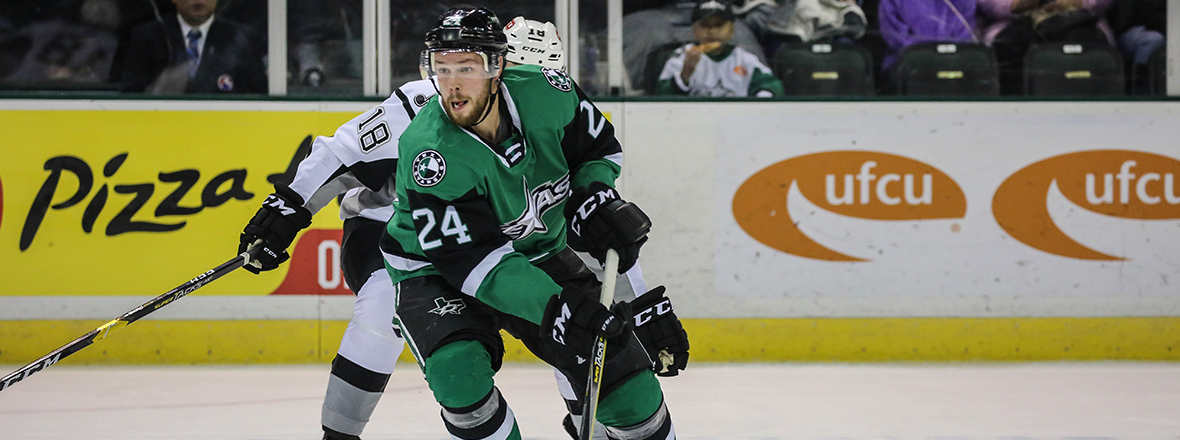 Stars Shutout by Rampage in 2-0 Loss
