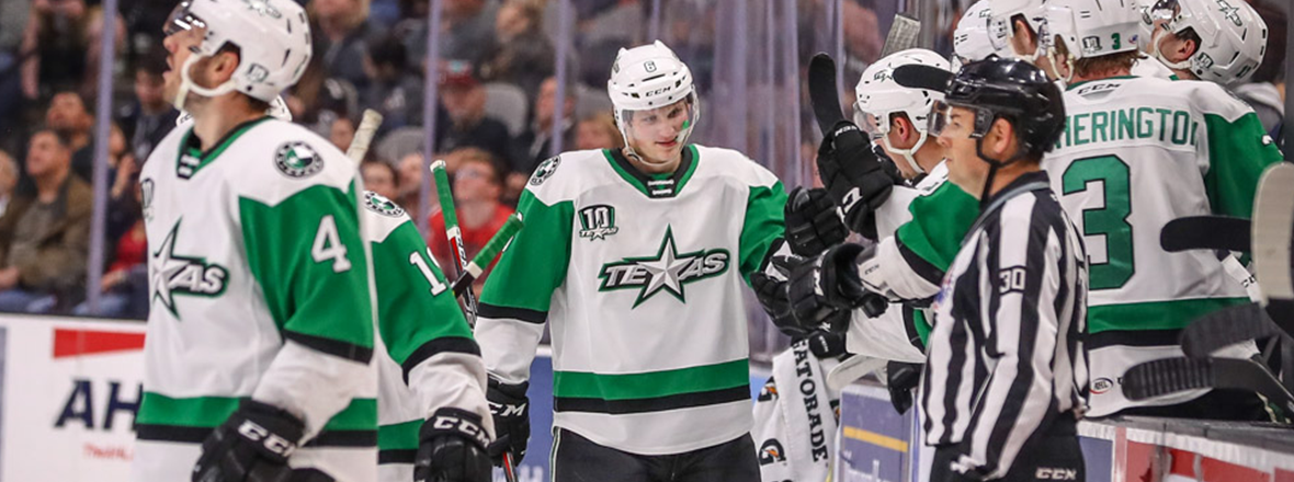 Stars Top Rampage in 6-4 Thriller