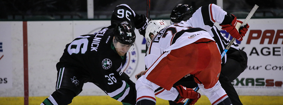 Stars Burned by Late Griffins Goals