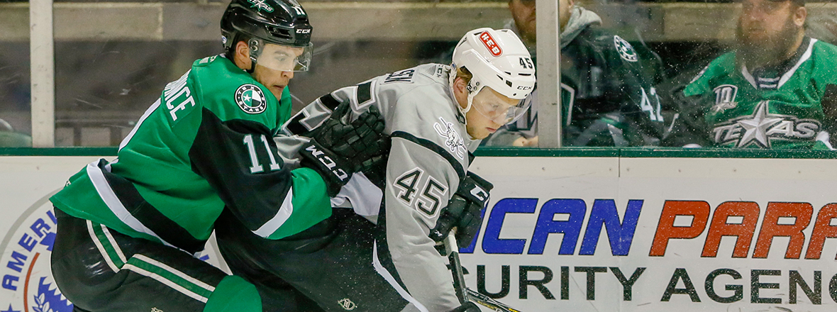 Stars Fall to Rampage in 5-3 Decision