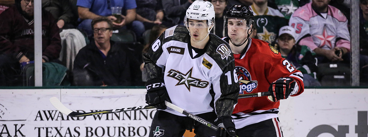 Stars Earn Point in Shootout with IceHogs